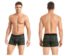 41921 Hawai Men's Boxer Briefs Color Green