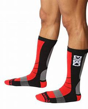 CellBlock 13 Vector Knee-High Socks Color Red