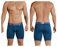 51432 Xtremen Men's Dots Boxer Briefs Color Blue