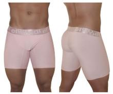 EW0845 ErgoWear Men's FEEL XV Gatsby Boxer Briefs Color Dusty Pink