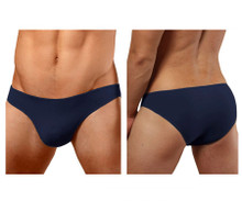 1281-NVY Doreanse Men's Hang-loose Bikini Brief Color Navy Blue