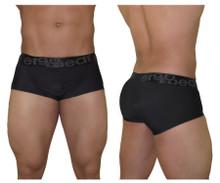 EW0847 ErgoWear Men's FEEL XV Soho Boxer Briefs Color Black