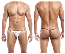 JS02 Joe Snyder Men's G-String Color White Viva Mexico
