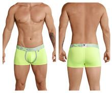 91028 Xtremen Men's Piping Boxer Briefs Color Green