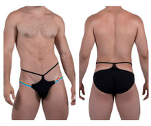 8728 Pikante Men's Pubs Bikini Color Black