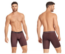 41852 Hawai Men's Boxer Briefs Color Mahogany