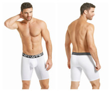 41852 Hawai Men's Boxer Briefs Color White