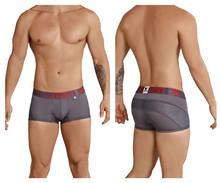 91030 Xtremen Men's Sports Mesh Boxer Briefs Color Gray