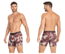 41953 Hawai Men's Boxer Briefs Color Mahogany