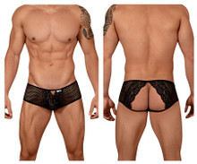 99429 CandyMan Men's Tangerine Brief Color Black