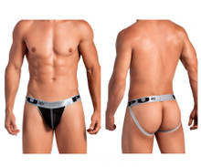 2017 PPU Men's Jockstrap Color Silver