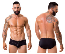 0288 JOR Men's Hot Swim Briefs Color Black