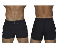 BSBY4059 Private Structure Be-fit Sweat Athletic Shorts Color Black