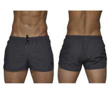 BSBY4059 Private Structure Be-fit Sweat Athletic Shorts Color Gray