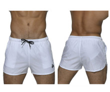 BSBY4059 Private Structure Be-fit Sweat Athletic Shorts Color White