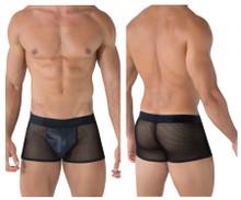99479 CandyMan Men's Mesh Trunks Color Black