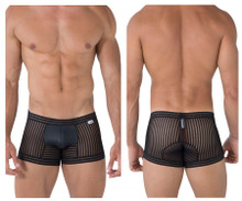 99481 CandyMan Men's Mesh Trunks Color Black
