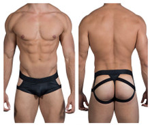 99494 CandyMan Men's G-String Jockstrap Color Black