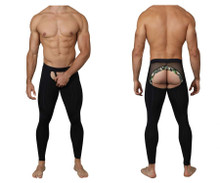 0215 Pikante Men's Bliss Soho Leggings Color Black