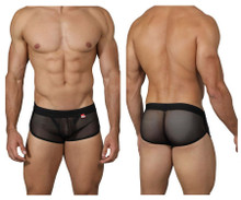 0226 Pikante Men's Cheek Lifter Trunks Color Black