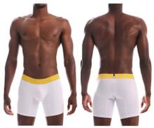 20160100204 Unico Men's Joyful Boxer Briefs Color White