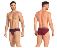 41974 Hawai Men's Briefs Color Red Wine
