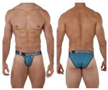 91070 Xtremen Men's Microfiber Bikini Color Petrol