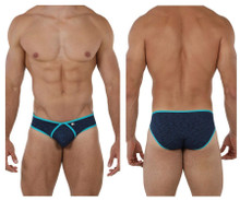 91074 Xtremen Men's Microfiber Briefs Color Dark Blue
