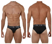 91079 Xtremen Men's Microfiber Bikini Color Black