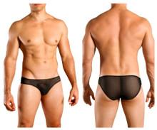 1321-BLK Doreanse Men's Sexy Sheer Bikini Brief Color Black