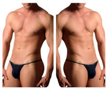 1330-NVY Doreanse Men's Ribbed Modal T-thong Color Navy