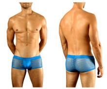 1588-BLU Doreanse Men's Mesh Trunk Color Blue