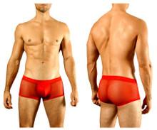 1588-RED Doreanse Men's Mesh Trunk Color Red