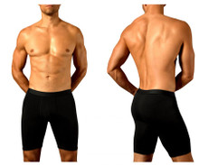 1792-BLK Doreanse Men's Athletic Boxer Briefs Color Black