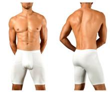 1792-WHT Doreanse Men's Athletic Boxer Briefs Color White