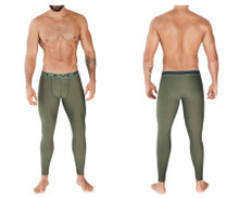 0372 Clever Men's Ideal Athletic Pants Color Green