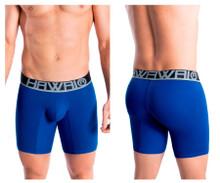 41903 Hawai Men's Solid Athletic Boxer Briefs Color Royal Blue