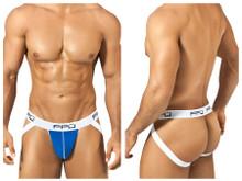 1308 PPU Men's Cotton Jockstrap Color Blue