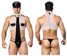 99289 CandyMan Men's Pilot Costume