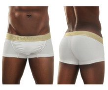 EW0627 ErgoWear Men's FEEL XV Boxer Briefs Color White