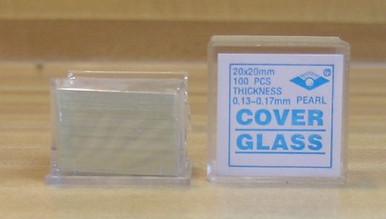 Box of Cover Slips for Slides - 100