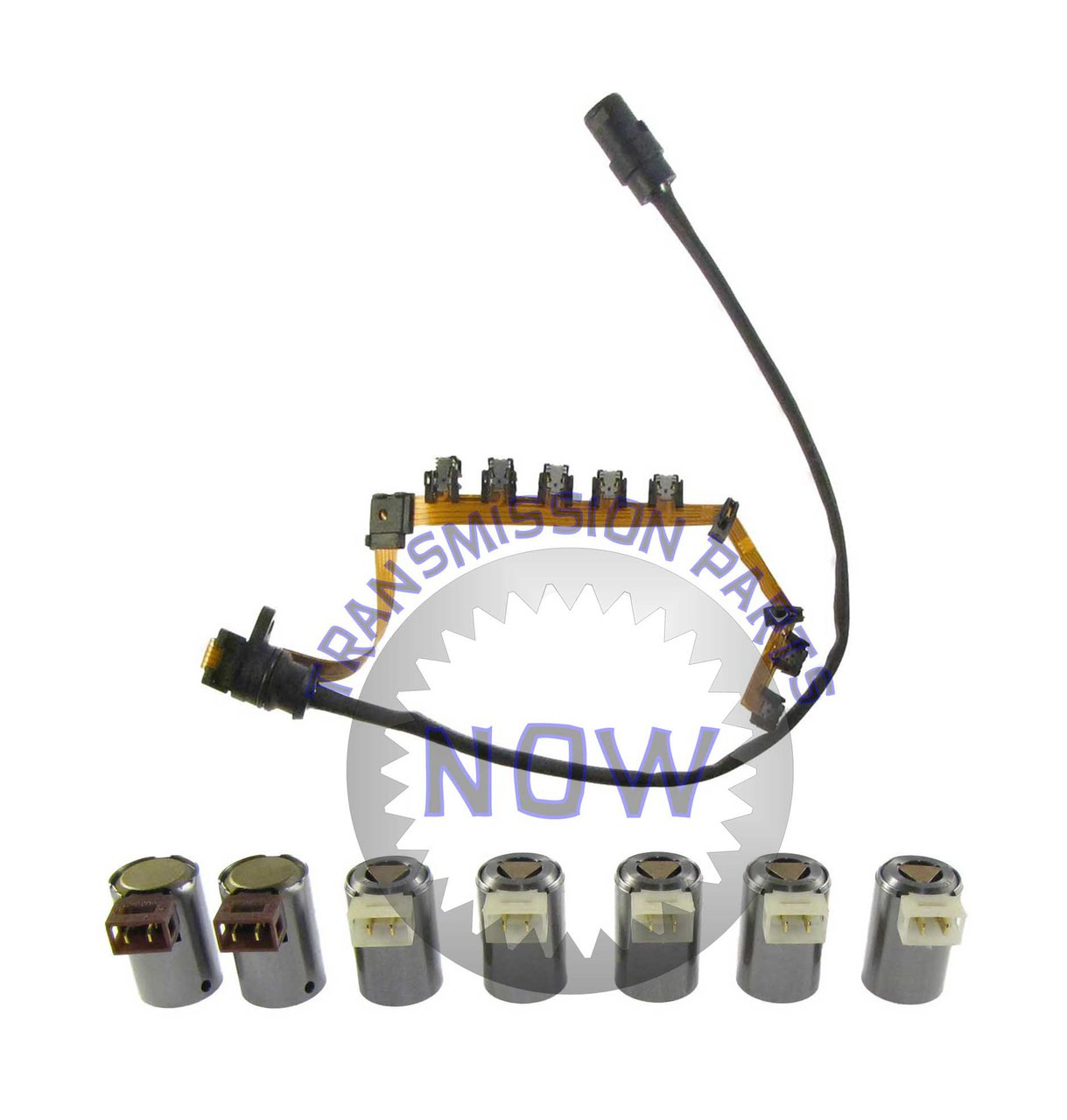 OE Type Wiring Harness and 7 Piece Solenoid Set A Transmission Wire Harness on