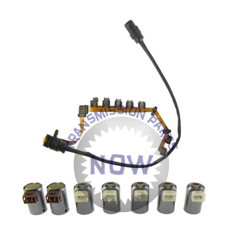 Volkswagen, VW, wiring, Ribbon, Solenoid, solenoid set, Transmission, Transpartsnow, 01M 095, 096, 01N, Internal harness.