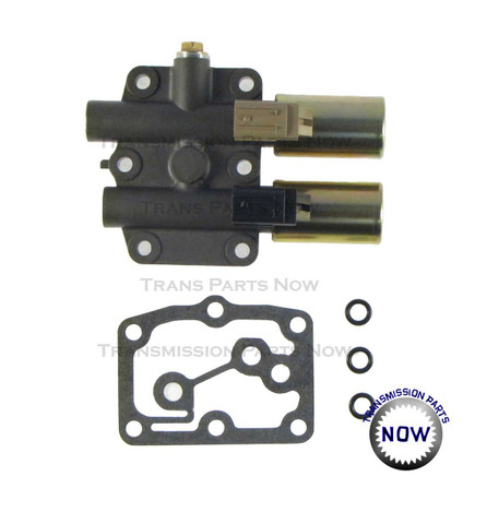 Rostra Honda Pressure Control Solenoid/ Dual Linear Solenoid. Replaces Honda part # 28250-RDK-014. Made in the USA.  Fits:Honda/Acura / Pilot/Ridgeline 2006-2008 / Odyssey 2007/ Accord Hybrid 2005-2007 / MDX 2003-2009 / RDX 2007-2009 /  TL 2007-2008 /  RL 2007-2008