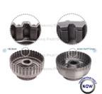Smart-Tech® Forward Clutch Drum, Part No. 76654-01K, Sonnax, 4R70, 4R75, 4R70E, Cracked forward drum, transmission drum, transmission parts, ford, drum