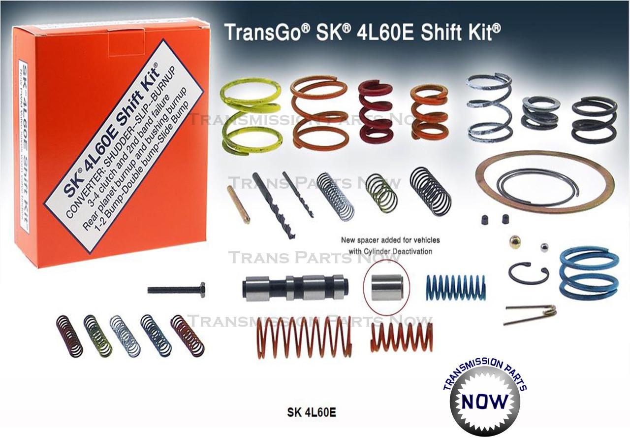 4L60E Transgo Shift Kit, Upgrade your transmission to improve