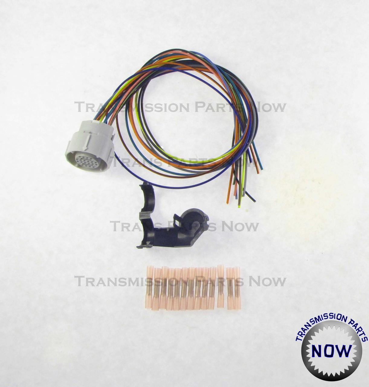 4l80e external wiring harness update kit, 34445ek 4R100 Transmission Diagram