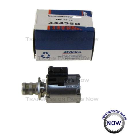Pressure Control Solenoid, EPC,  24248893, 34435B, AcDelco, transmission parts, transmission solenoid, line pressure solenoid, 4L60E, 4L65E