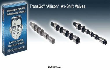 Our # 121741SKT, Transtar # T121741SK, WIT # A116741S-1K, Natpro # K35885, TransMax # TMX147-2803, Transgo # A1-Shift-Valves, Allison shift valves, Allison Transmission, Allison upgrades