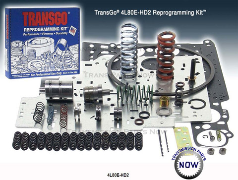 Transgo, Shift kit, Towing, Upgrade transmission, Transmission repair, SK4L80E, 4L80E, 4L85E, Transmission, 344169ET